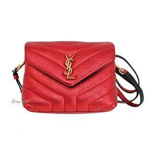 Saint Laurent Monogram Loulou Toy Leather Bag
